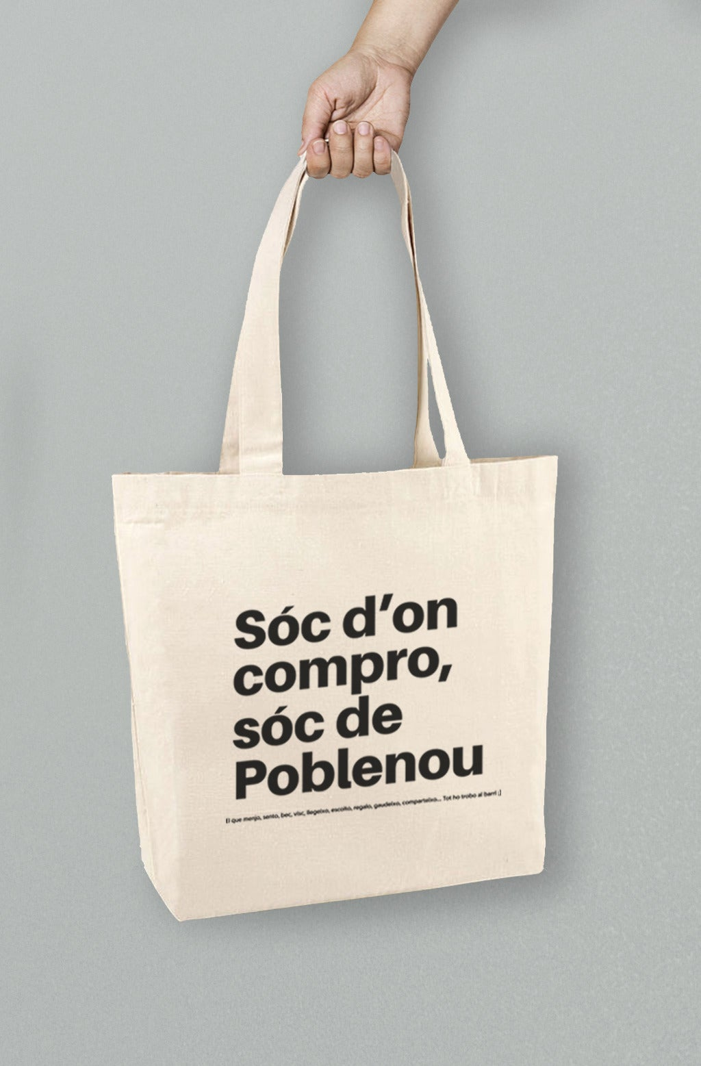 Poblenou Today Shopping Bag