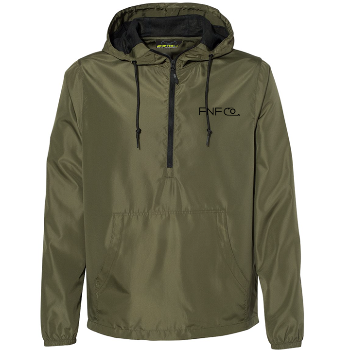 Image of FNFCO Pullover Jacket (military green)