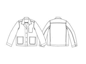 Image of Patrón chaqueta The Ottoline