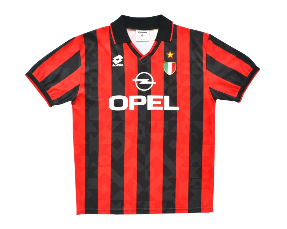 Image of 1994-95 Adidas AC Milan Home Shirt '9' XL