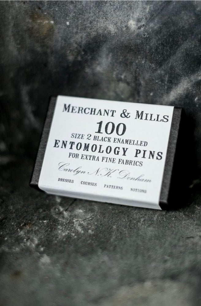 Image of Alfileres Entomology Pins de Merchant & Mills