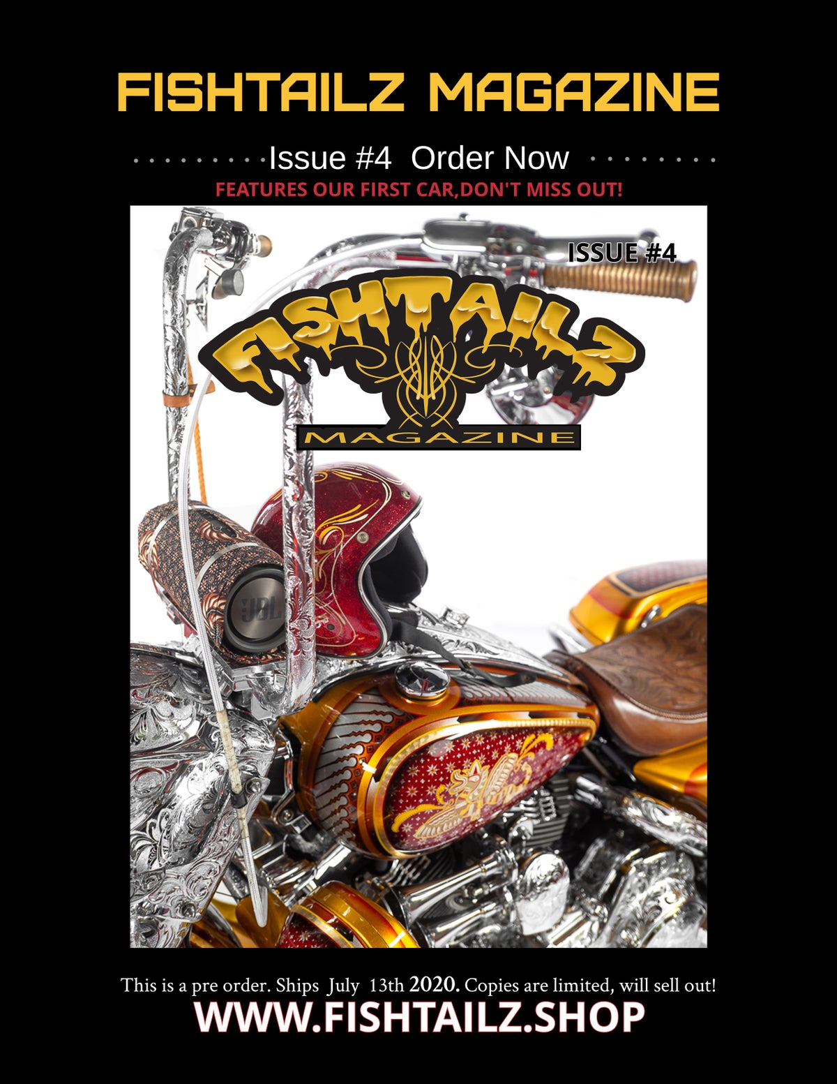 Image of Issue #4 Fishtailz Magazine