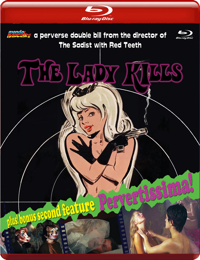 Image of THE LADY KILLS/PERVERTISSIMA - Limited 'Red Case' Edition