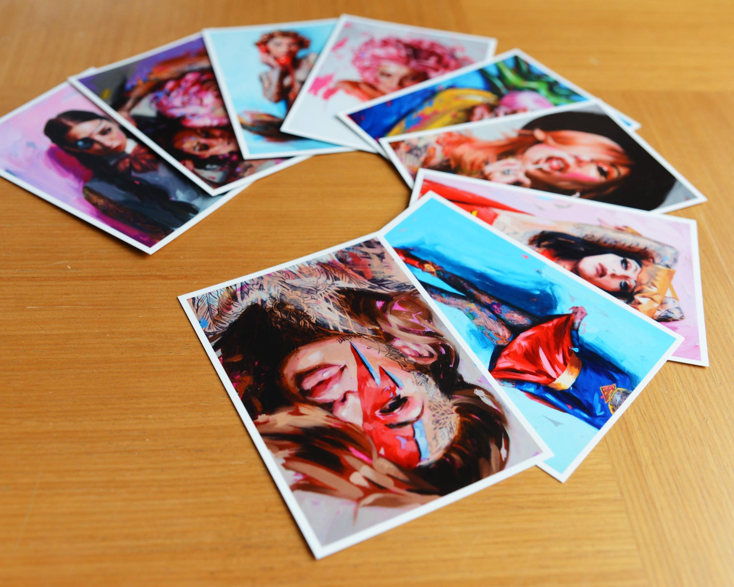 Image of 9x Art Cards (SERIES 3)