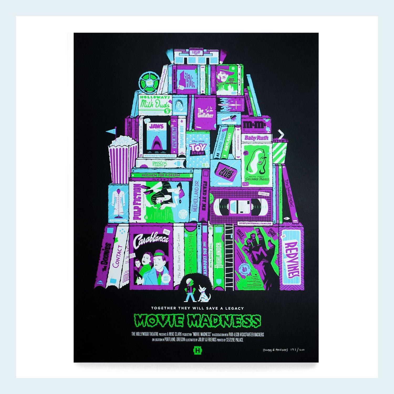 Image of Movie Madness Print