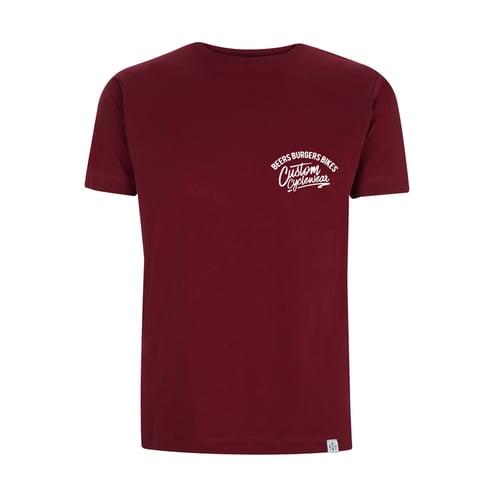 Image of Custom Cyclewear T-shirt BLACK