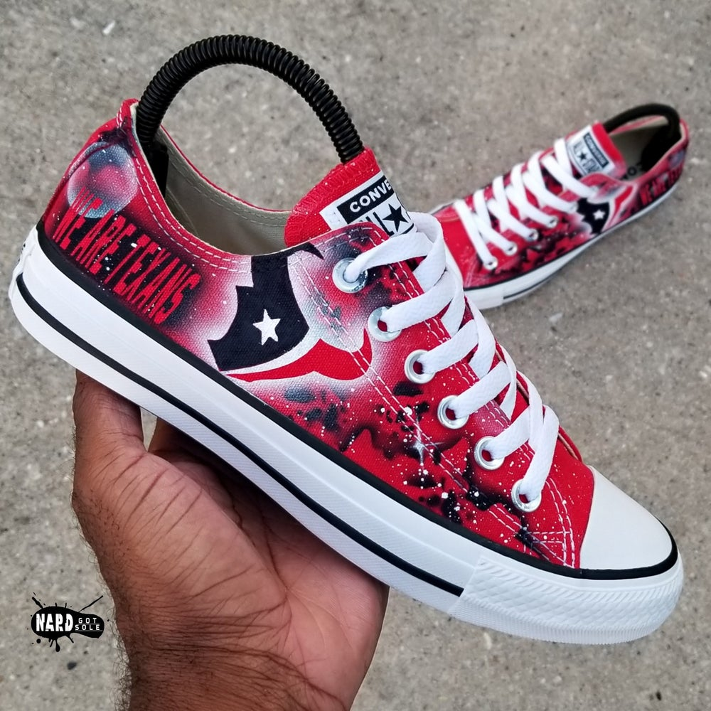 Image of Texans Galaxy Converse