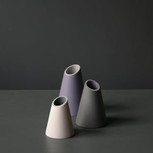 Image of Midi Medium Slash Cut Vase