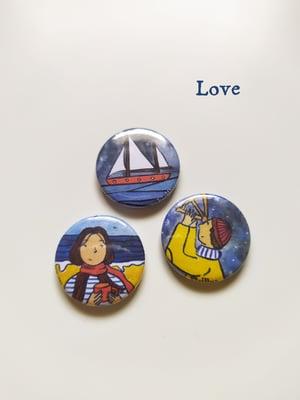 Image of 3 Pins, love, ice, arctic