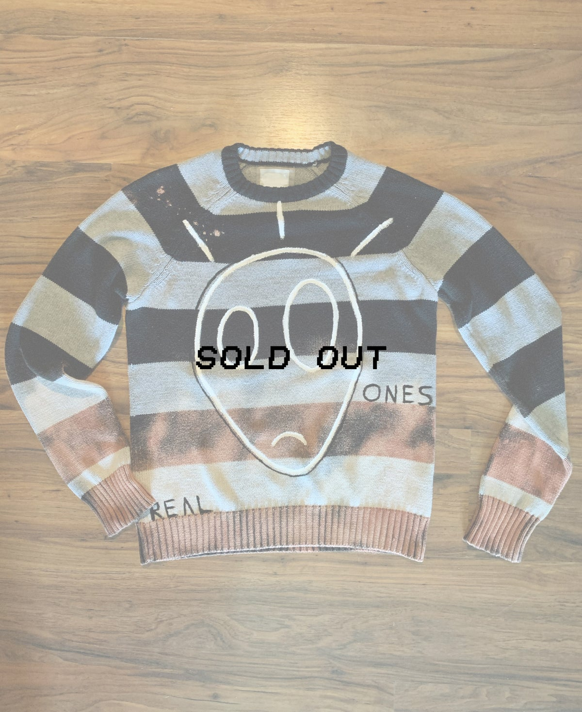 Real Ones - Striped woven sweater