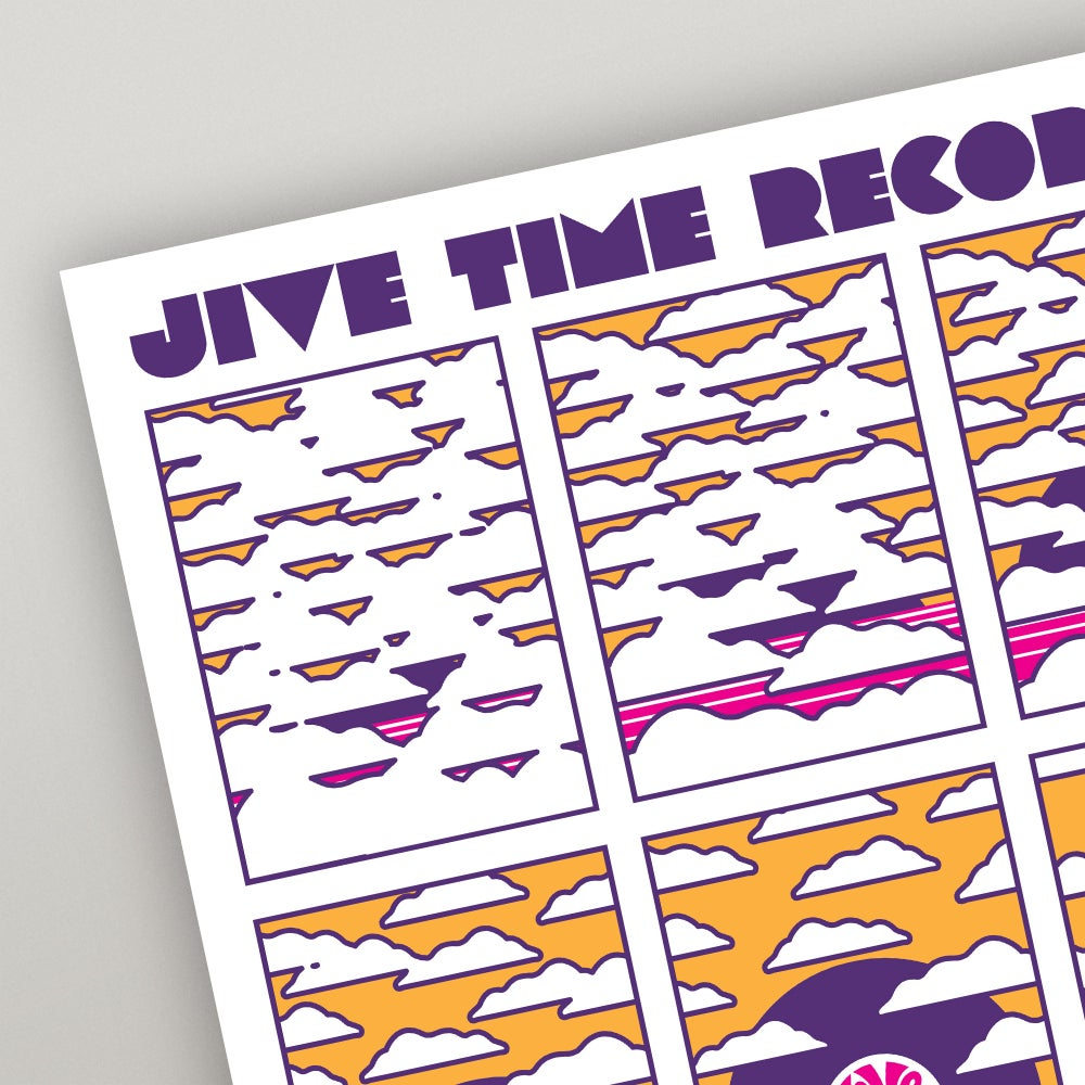 Image of Jive Time Records 18th Anniversary Poster