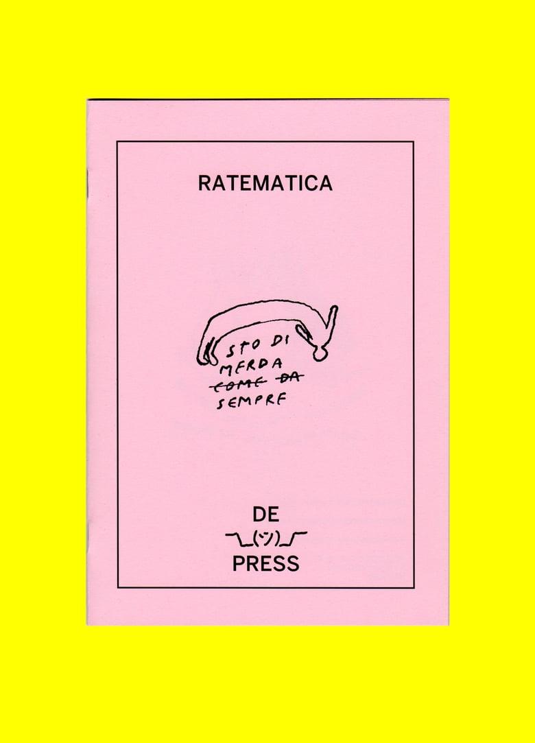 Image of RATEMATICA - STO DI MERDA SEMPRE