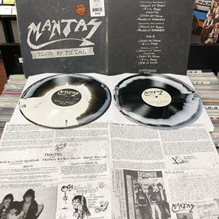 Image of Mantas - Death by Metal LP (GENERATION RECORDS EXCLUSIVE)
