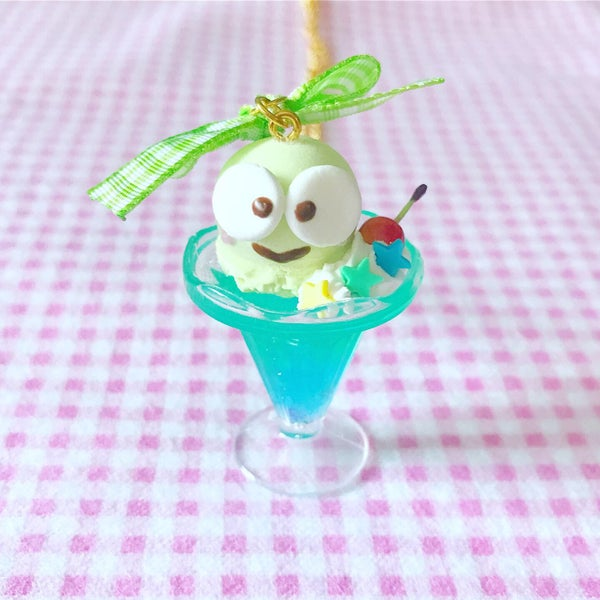 Image of Keroppi Float Necklace