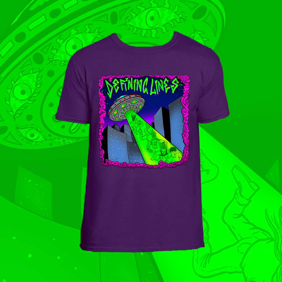 Image of PRE-ORDER: Hanging By A Thread - Purple T-Shirt