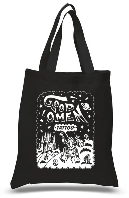 Good Omen Tattoo Fundraiser Tote Bag