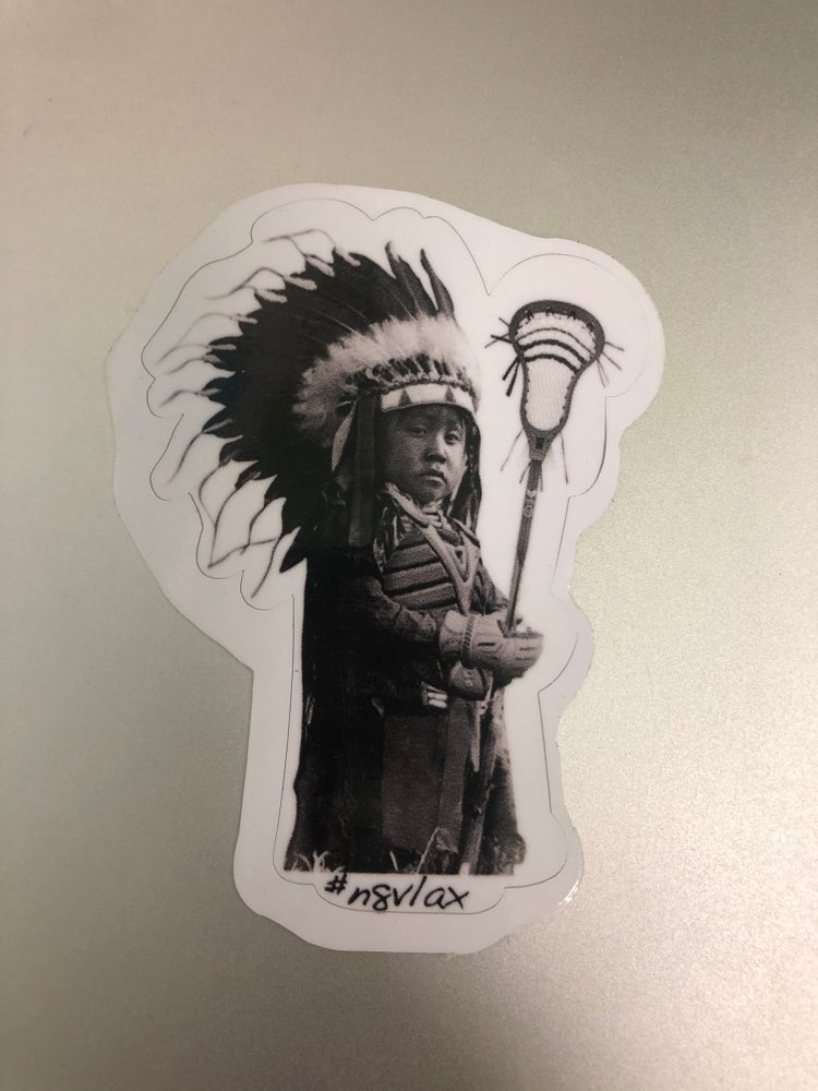 Image of Lacrosses boy sticker 2 for $4