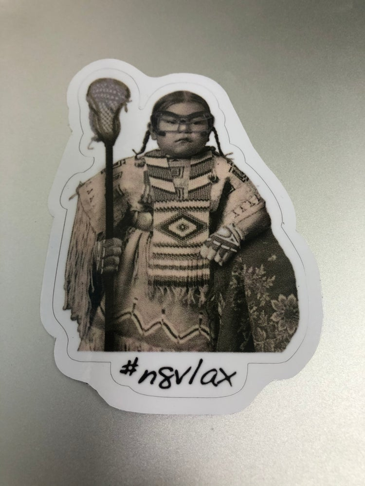 Image of Lacrosse girl sticker 2 for $4
