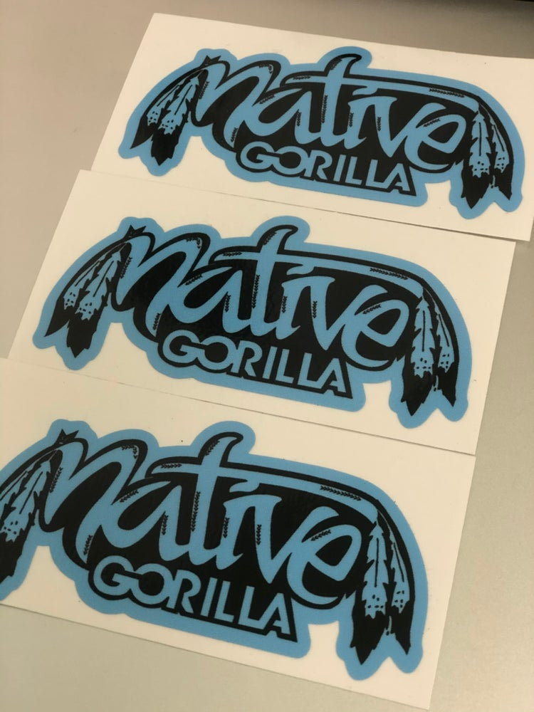 Image of NG West Coast Blue sticker 3 for $3