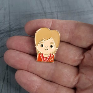 Image of Limited Edition - Nicola Enamel Pin Badge