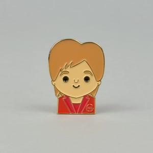 Image of Limited Edition - Nicola Enamel Pin Badge