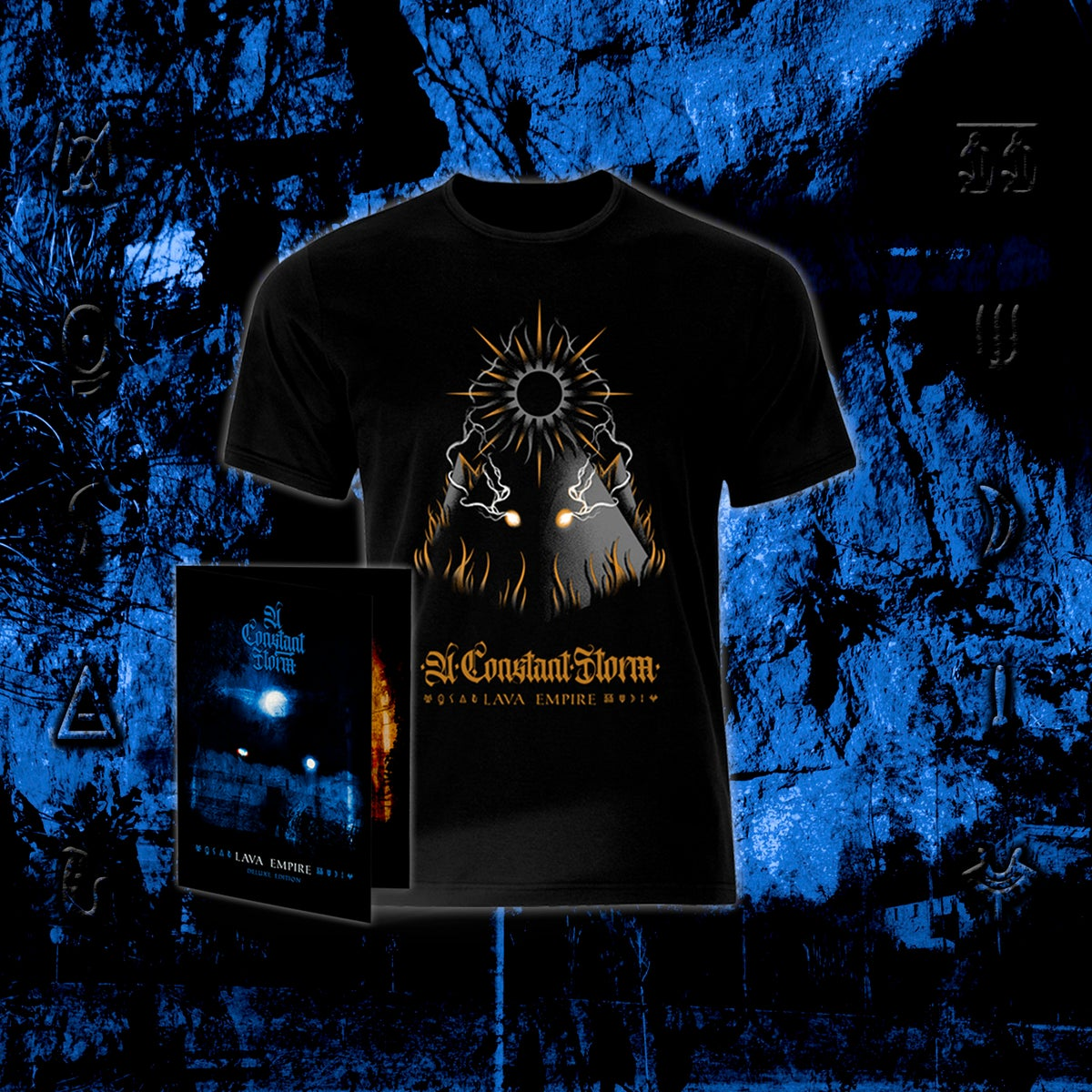 Image of Lava Empire Pack - T-Shirt + Deluxe Edition CD