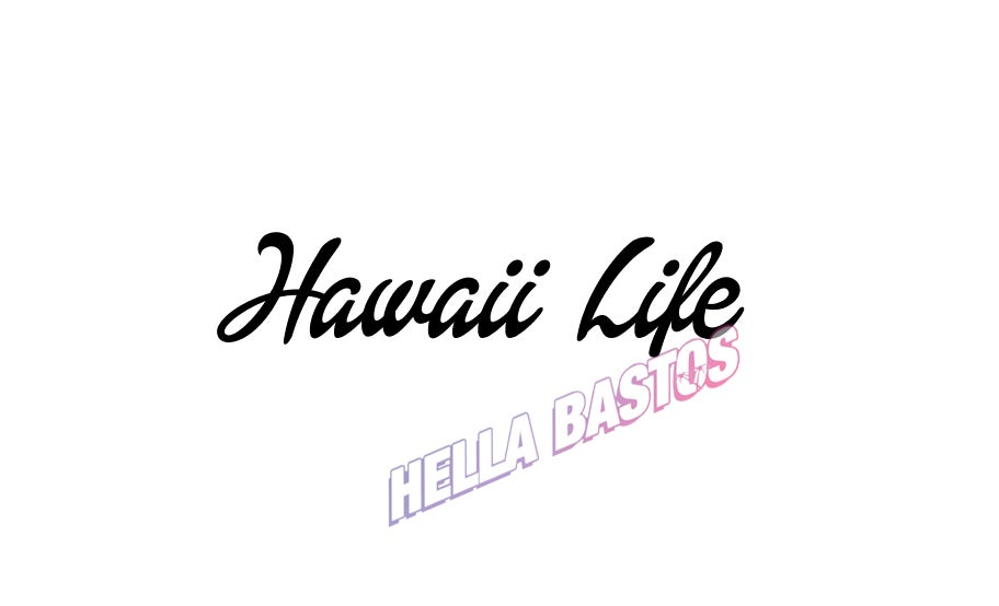 Image of Hawaii Life Bargain Decal