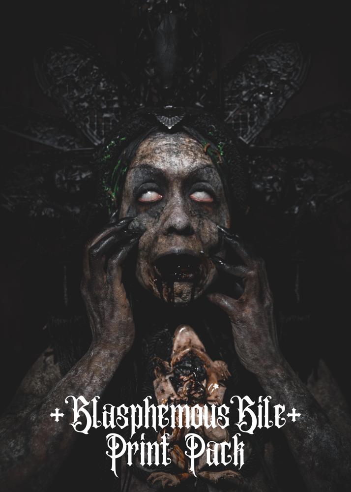Image of Blasphemous Bile - Pack of 3 prints
