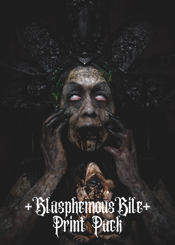 Image of Blasphemous Bile - Pack of 3 prints