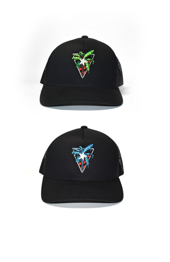Image of G3™ 5-Panel Trucker Cap Eco-Plat