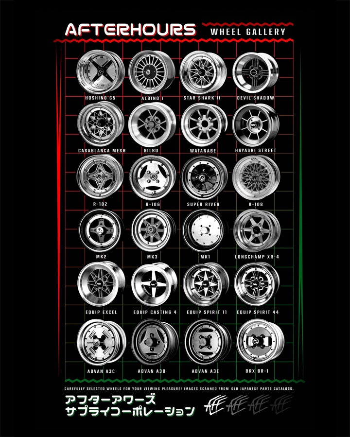 Image of Wheel Gallery Poster