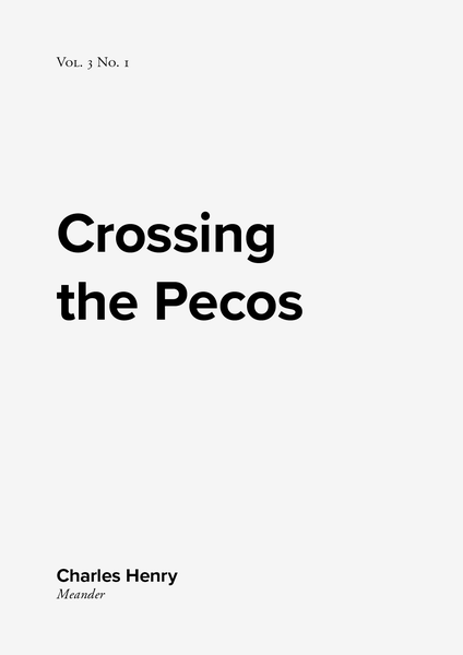 Image of Crossing the Pecos