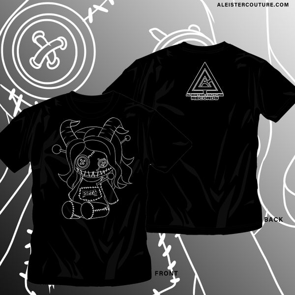 Image of Kireina Voodoo Doll Outline Shirt