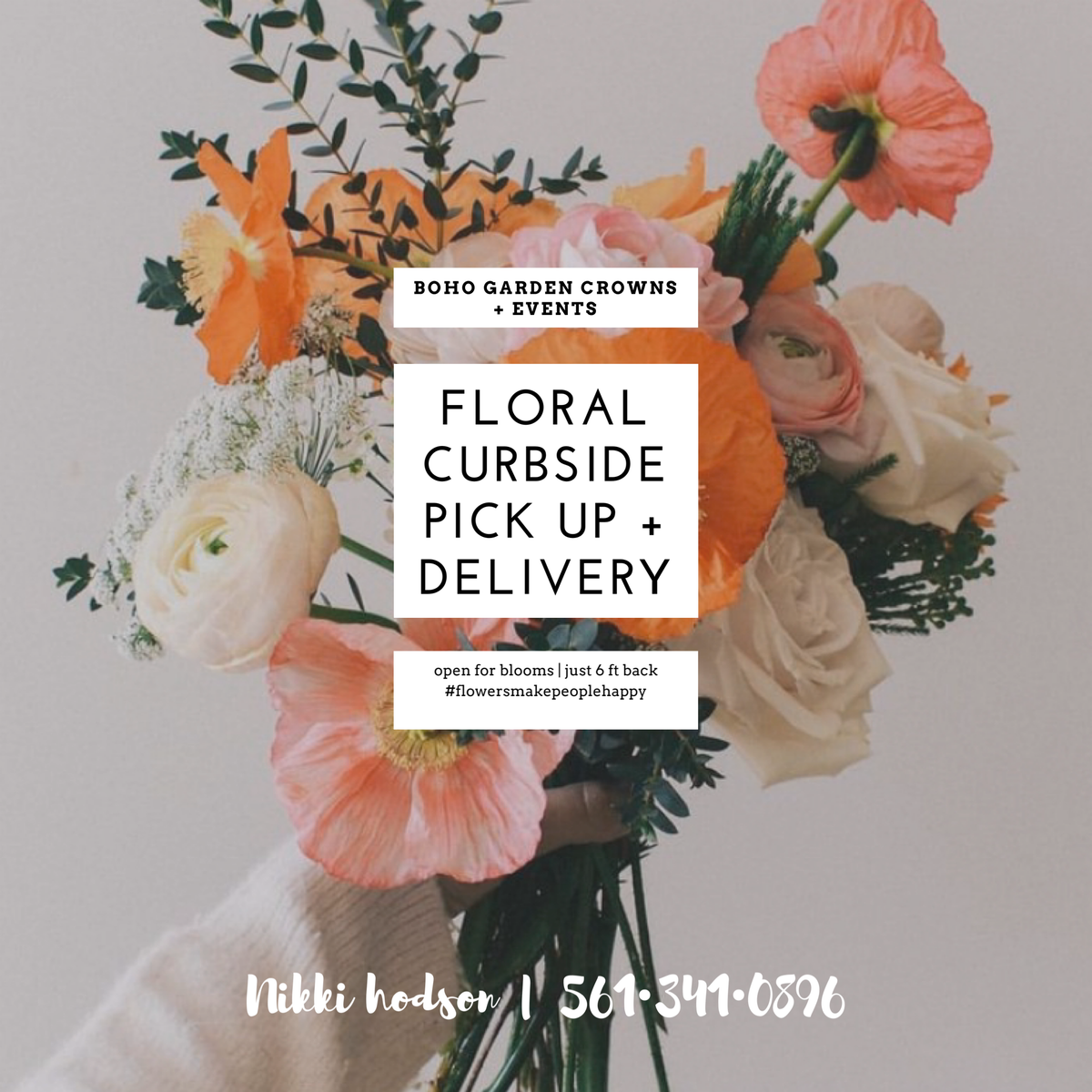 DRIVE BY BLOOMS  {WPB/WELLINGTON}