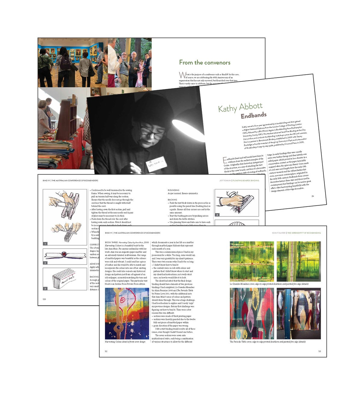 """Image of Bindable """"Notes"""" to the Bind19 conference PRE-ORDER SPECIAL now available $40.00"""