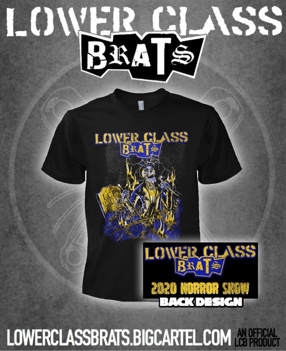 Image of 2020 Horror Show two-sided t-shirt
