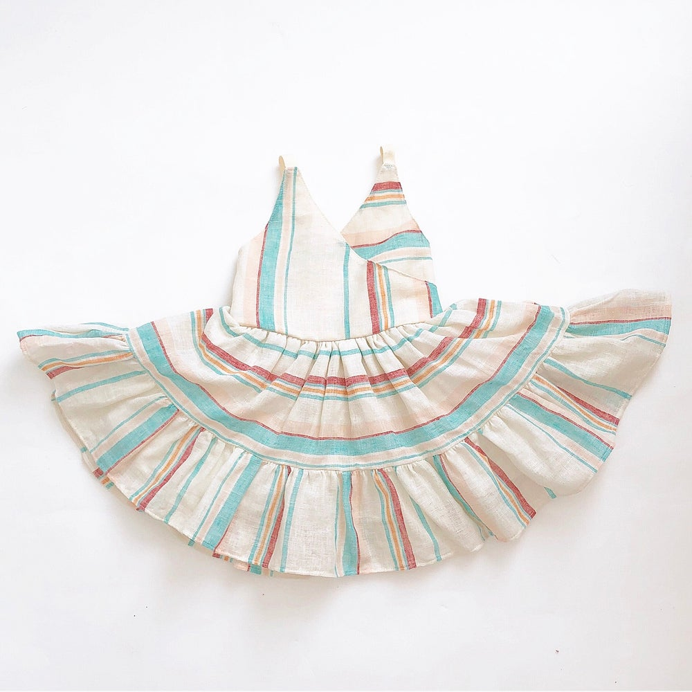 Image of Summer Stripes Dress- last one