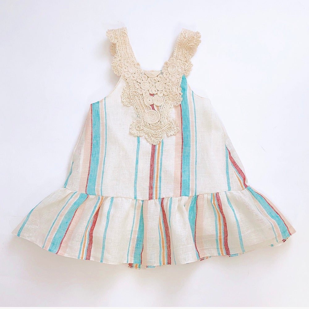 Image of Happy Stripes Summer Dress- last one
