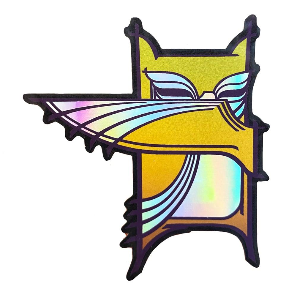 Image of Bandit Owl / Sticker