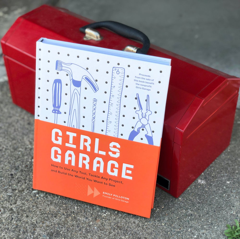 Signed Girls Garage Book