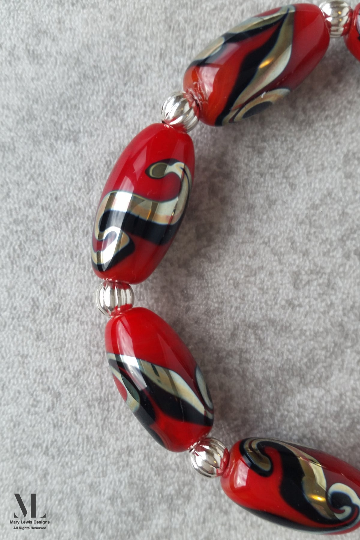 """Fire and Ice"" Bracelet"
