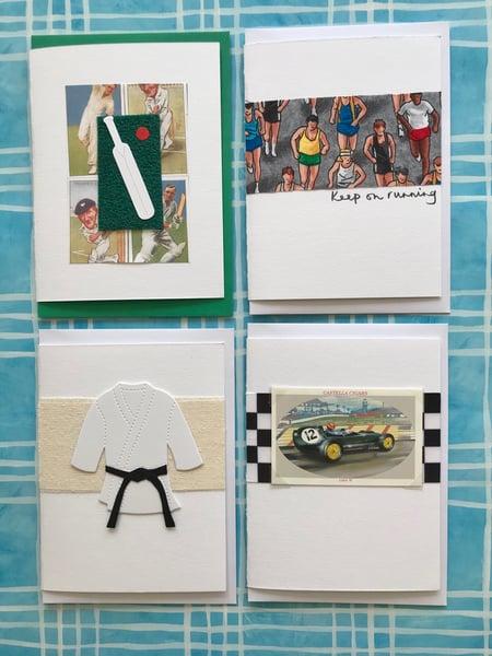 Image of Cricket/Running/Martial Arts/Motor Racing