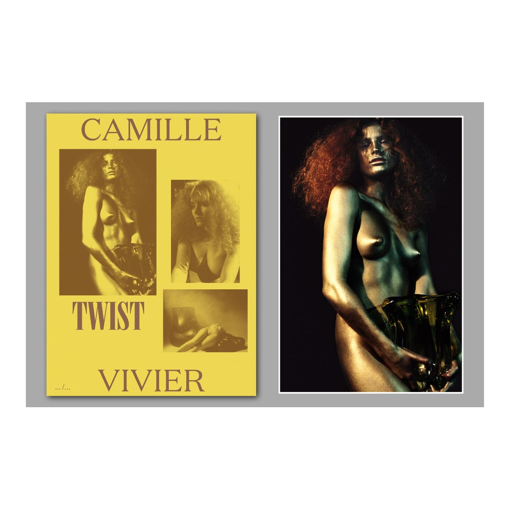 Image of Camille vivier - Twist - Book + print  / SIGNED / Last pieces