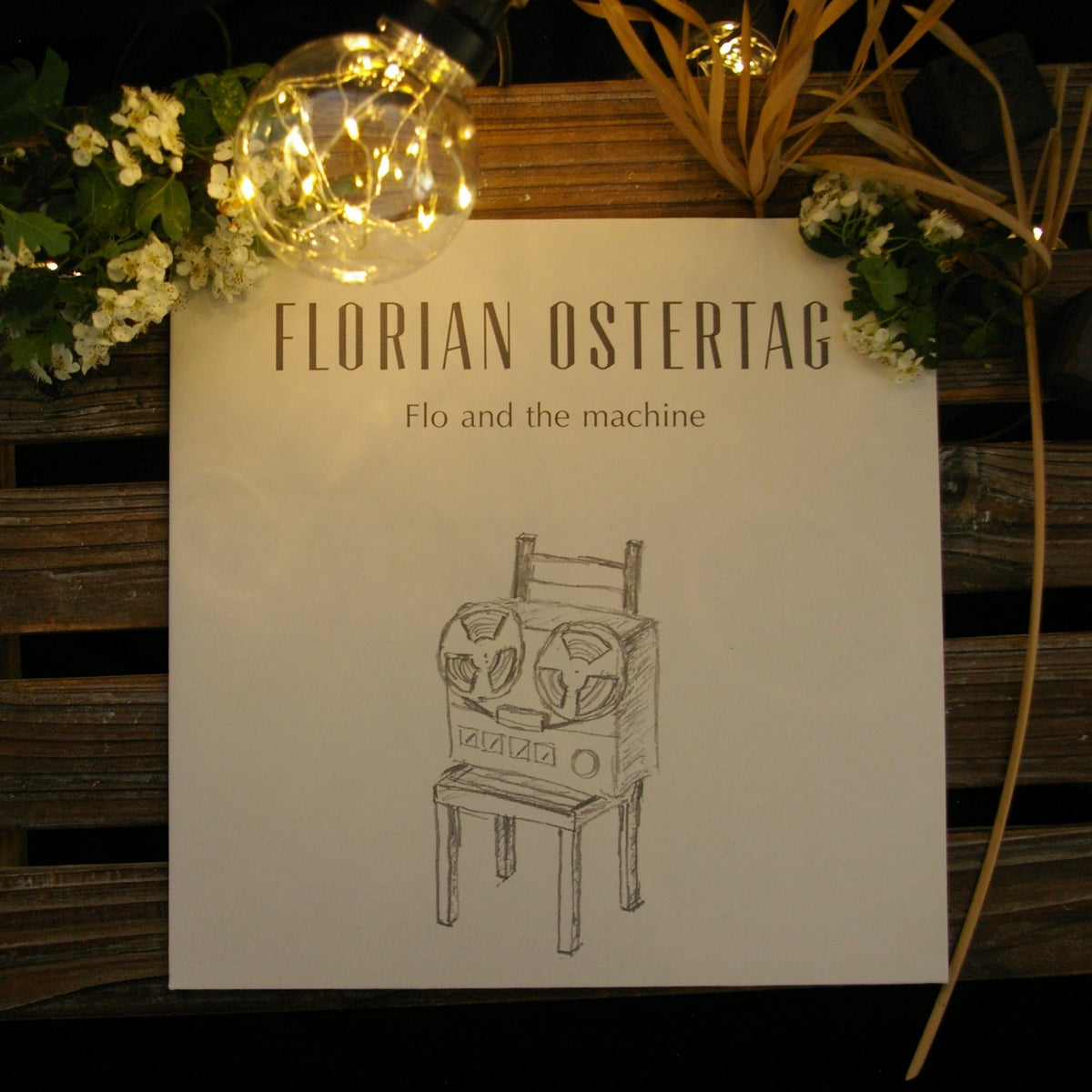 Florian Ostertag - Flo and The Machine - LP CD + Vinyl