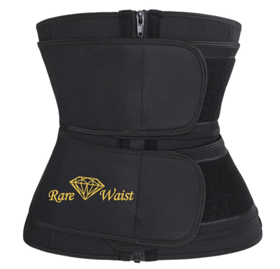 "Image of ""Zip Up"" Sweat Band Waist Trainer"