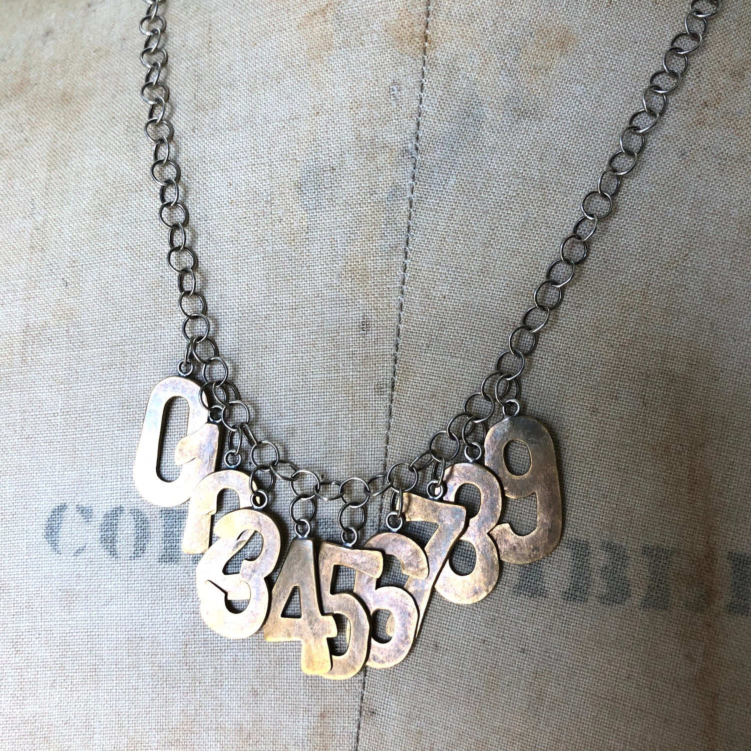 Image of 0 to 9 necklace