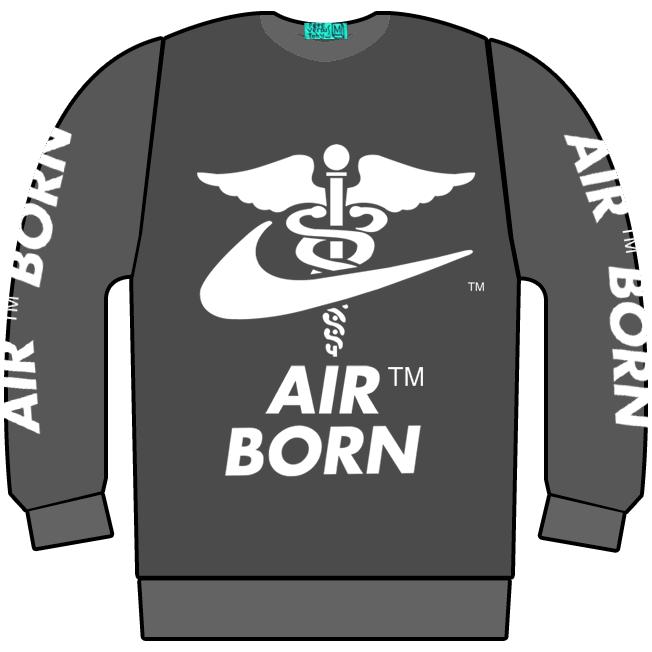 Image of AIR BORN JUMPA ACID WASH