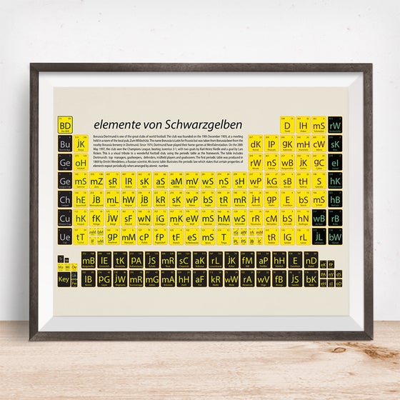 Image of Borussia Dortmund Art Print