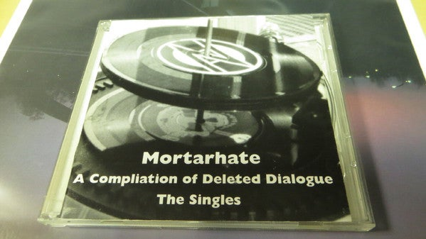 Image of A Compilation Of Deleted Dialogue (The Singles) CD x2 - MORT CD 70