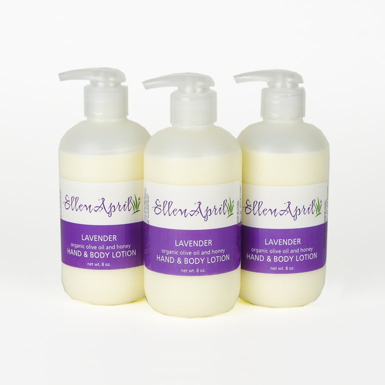 Image of Organic Olive Oil & Honey Hand and Body Lotion